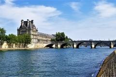 Quiet and serene on the River Seine