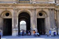 Louvre Pyramid Peaking