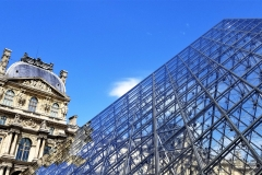 Gorgeous Day at Louvre