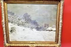 Environs de Honfleur, Neige (Neighborhood of Honfleur, Snow)