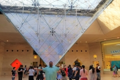 Me and the inverse pyramid