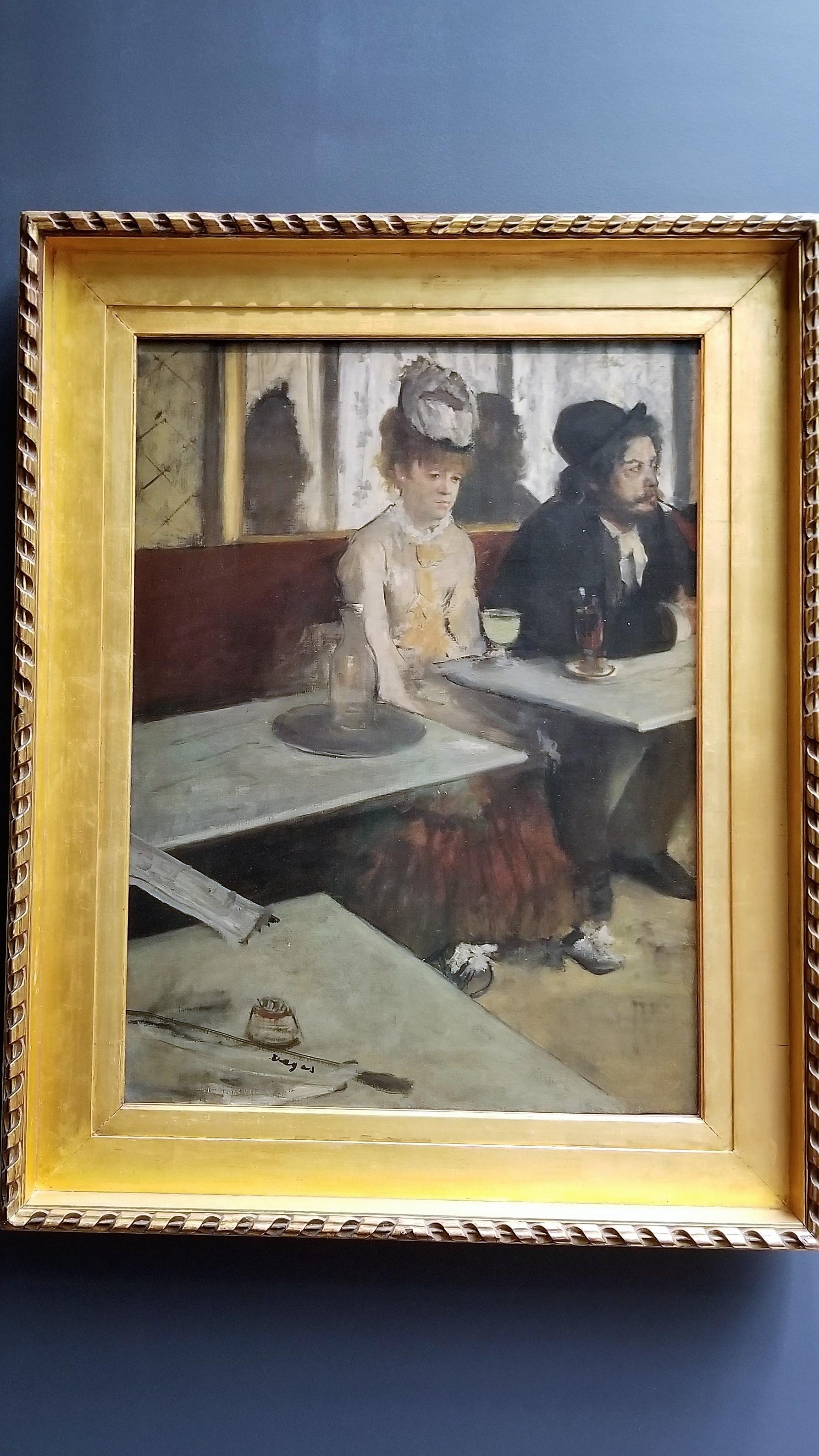 Dans un café, dit aussi l'Absinthe (In a Café, also called Absinthe)