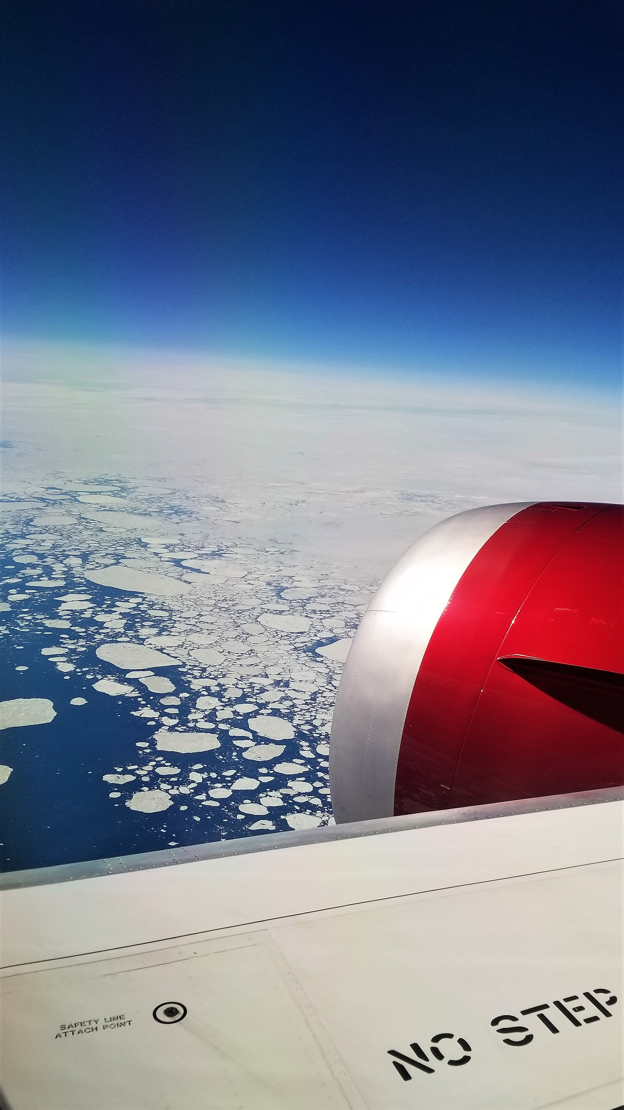 Over Artic Circle