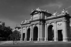 Puerta de Alcala BW