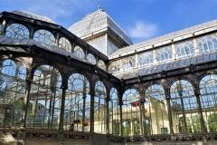 Behind the Palacio de Cristal (Crystal Palace)