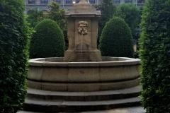 Fountain oustide