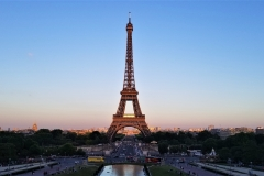 Tower from Place du Trocadéro