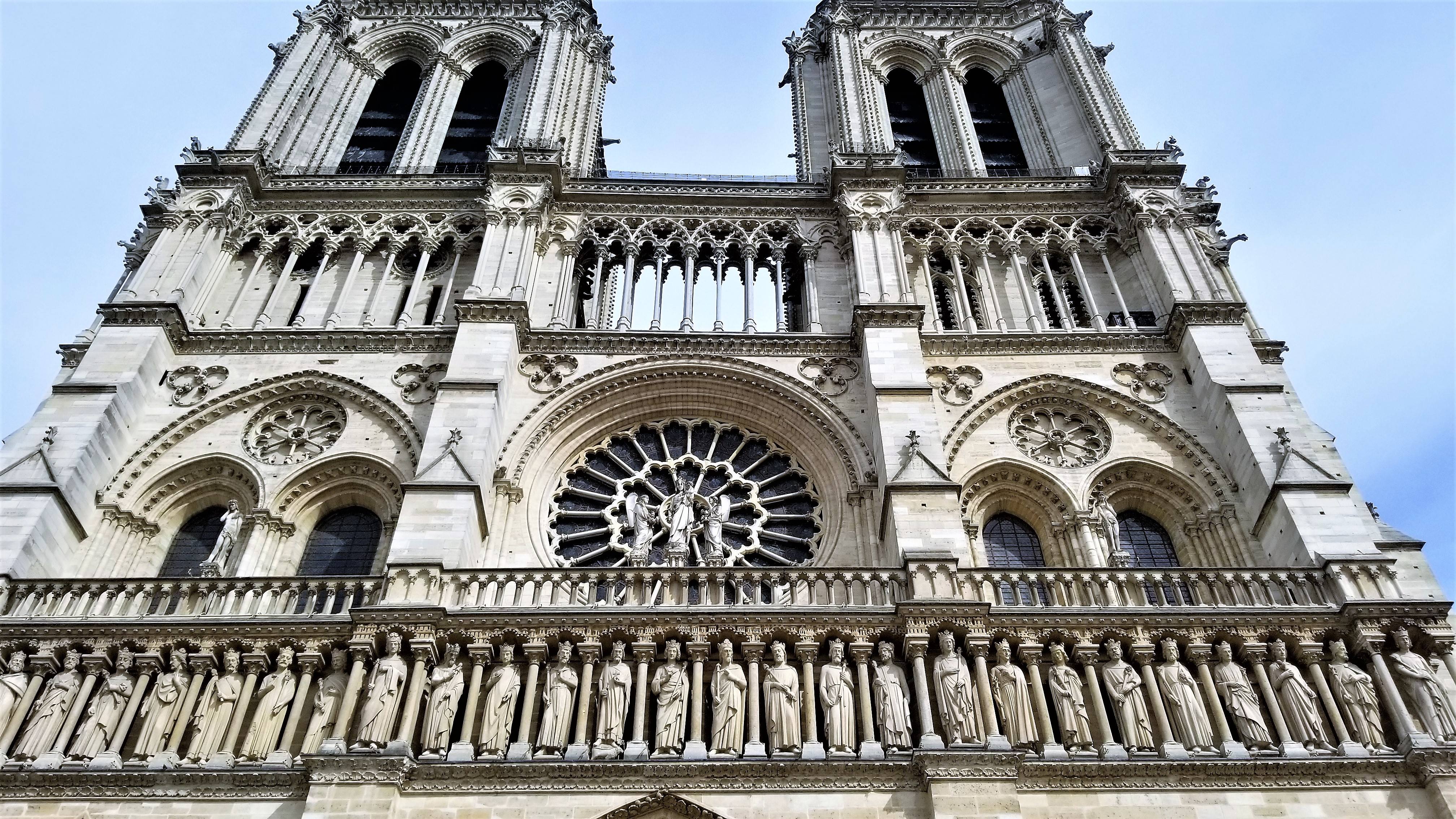 Top view of Notre Dame