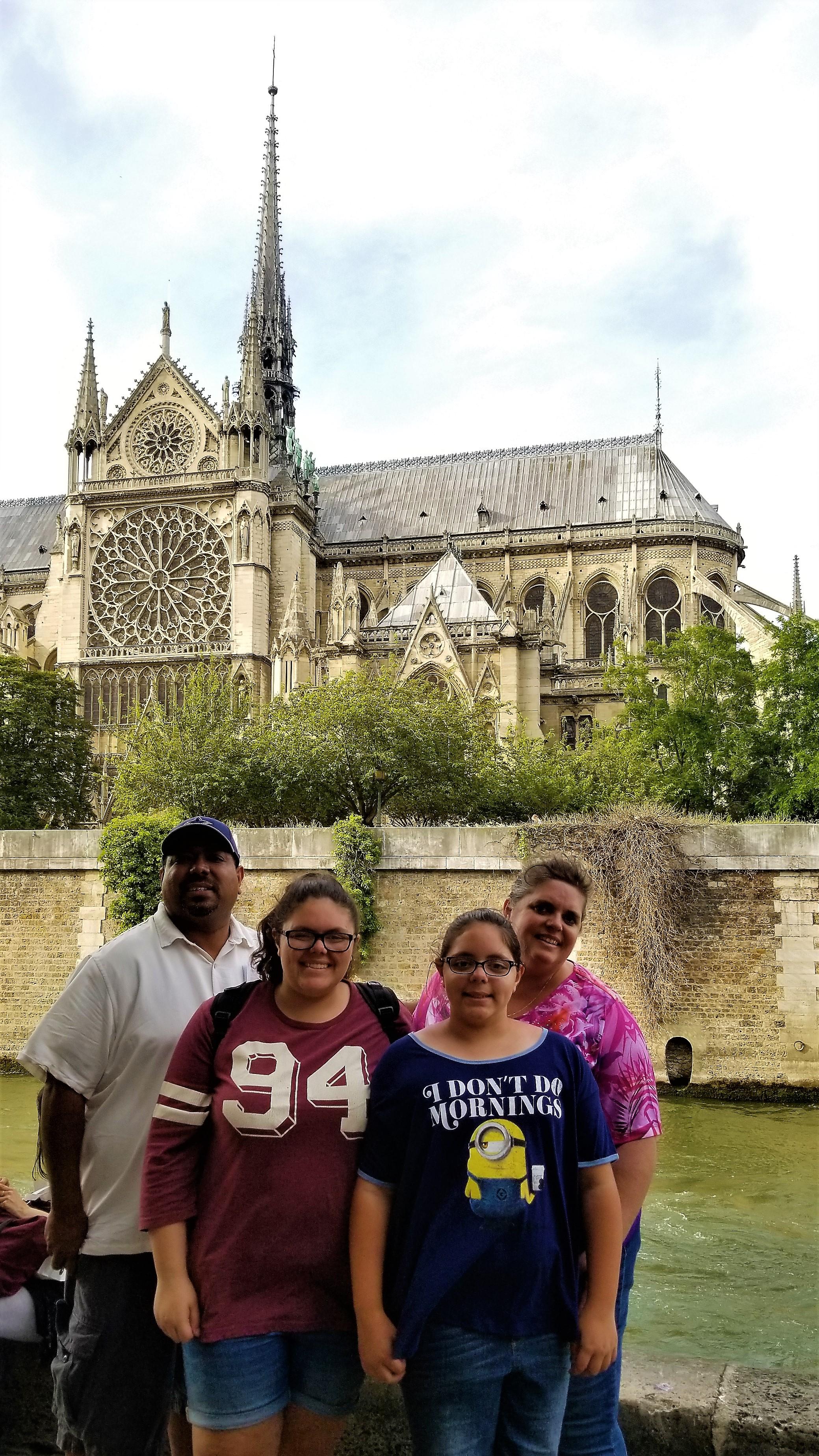 Family on Banks of Siene