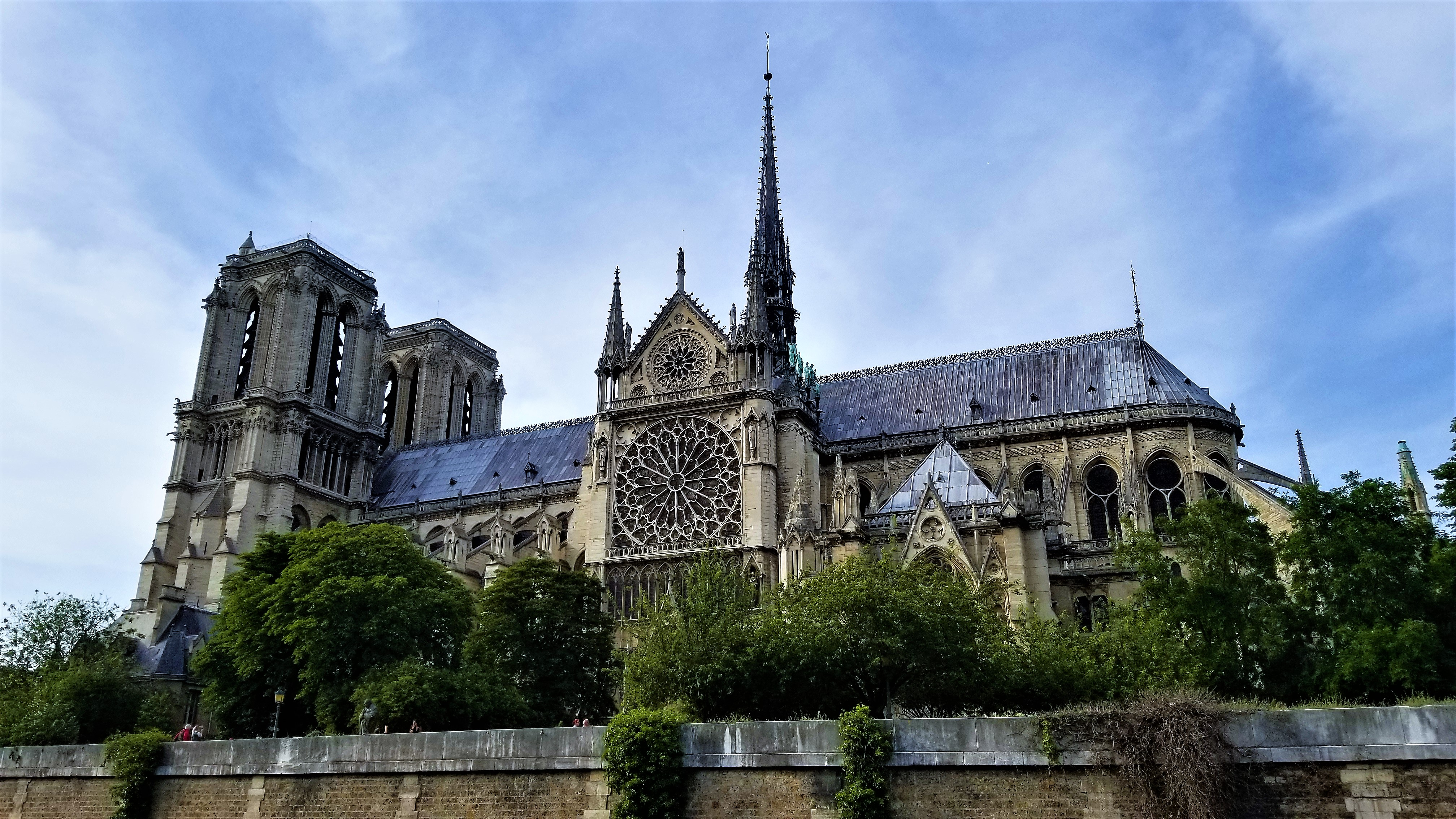 Final view of Notre Dame