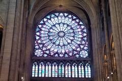 Inside near the altar