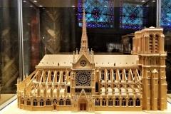 Model of Notre Dame.