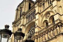 Lamp & Notre Dame