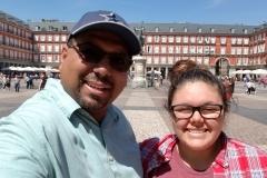 Daddy & Elena Selfie